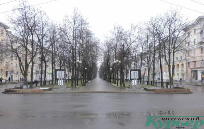 улица Кирова в Витебске