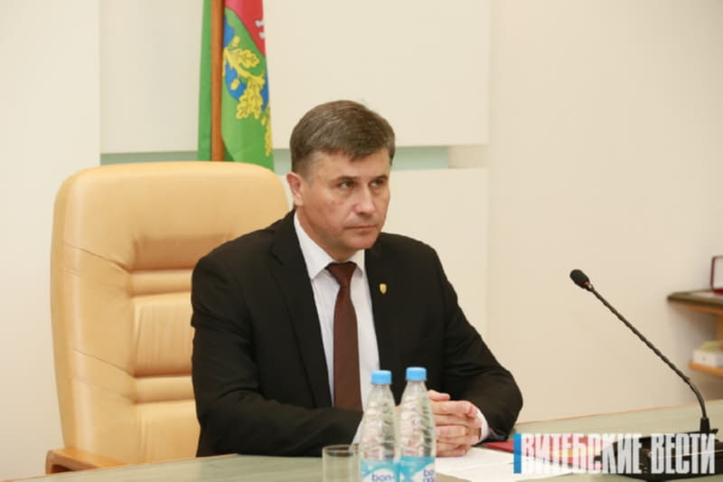 новый мэр Витебска Вадим Зарянкин