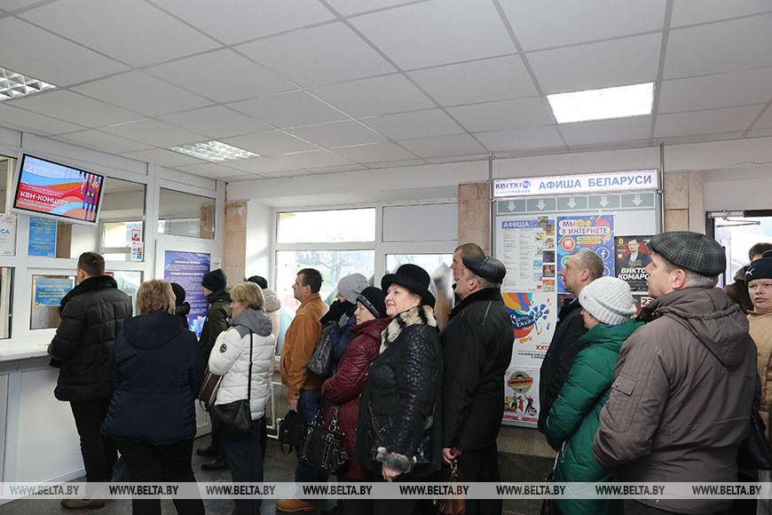 За билетами на Славянский базар в Витебске очередь