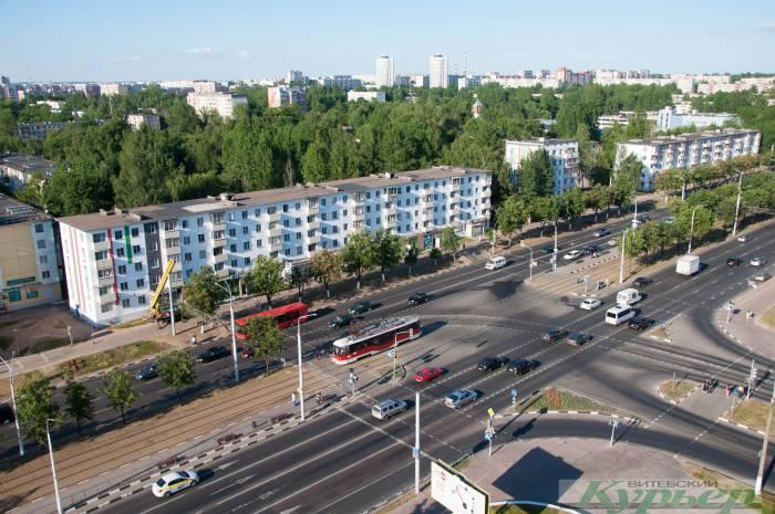 Вид на Московский проспект