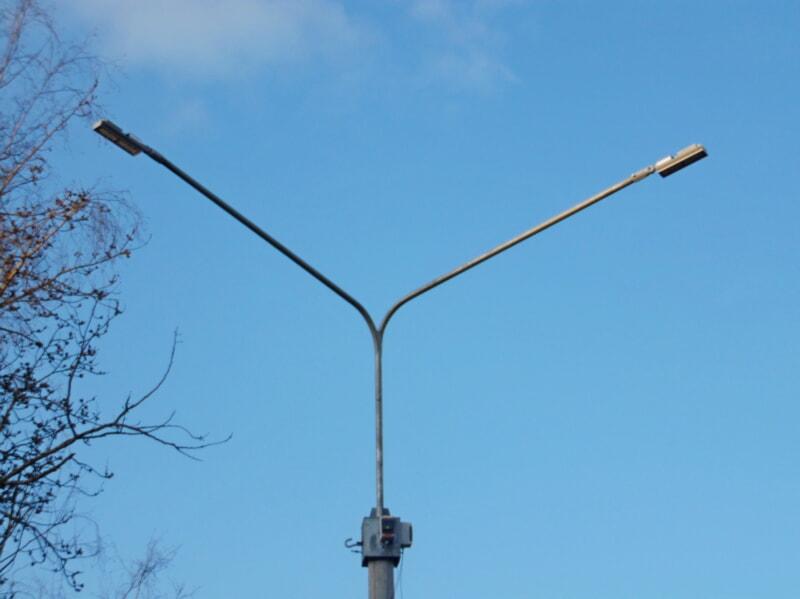 Новые фонари в Полоцке