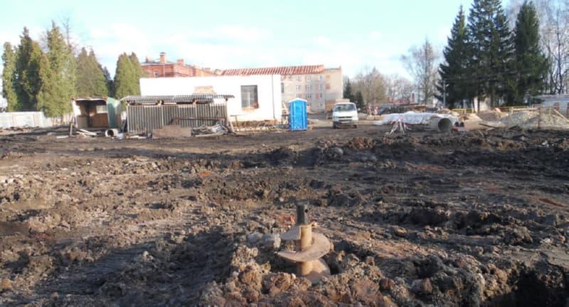 В Полоцке идет строительство кадетского училища