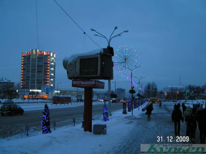 Камера на площади Победы