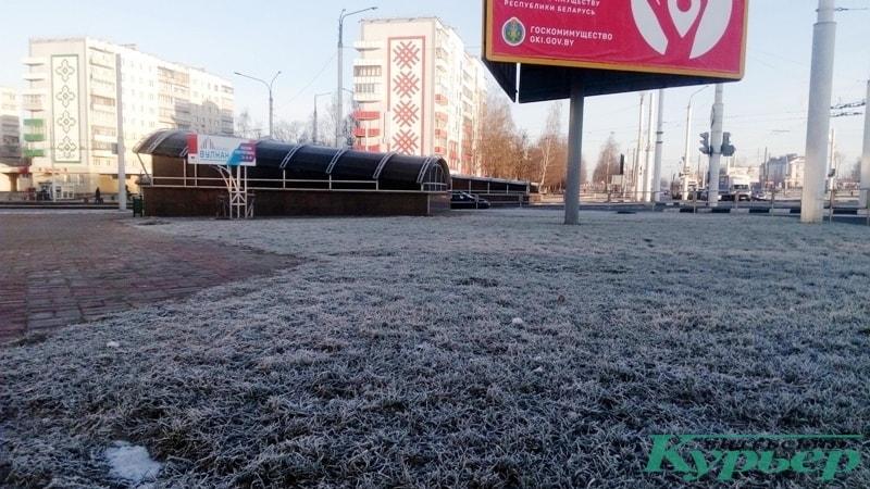 Московский проспект иней
