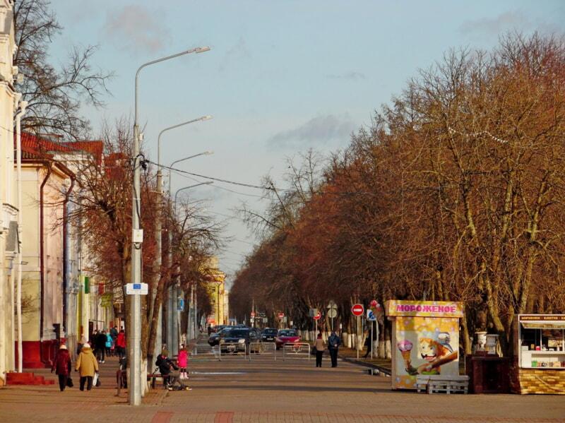В Полоцке установили фонари