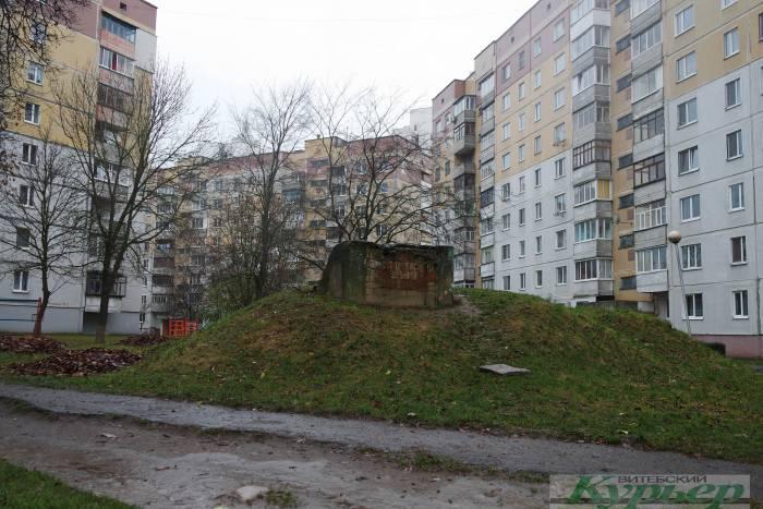 Бункер на проспекте Черняховского