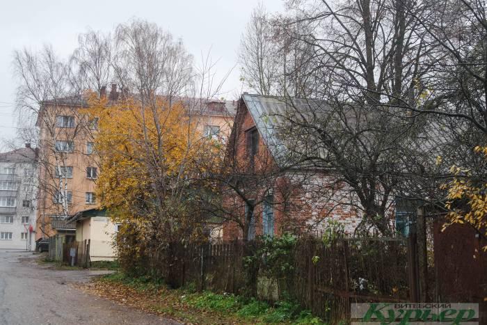 старые дома в Витебске