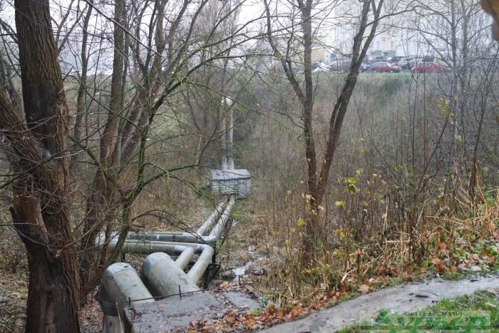 овраг на проспекте черняховского