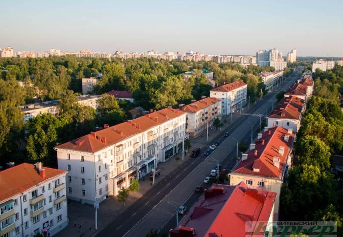 панорама проспекта черняховского