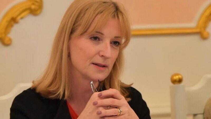 Посол Швеции в Республике Беларусь Кристина Юханнессон