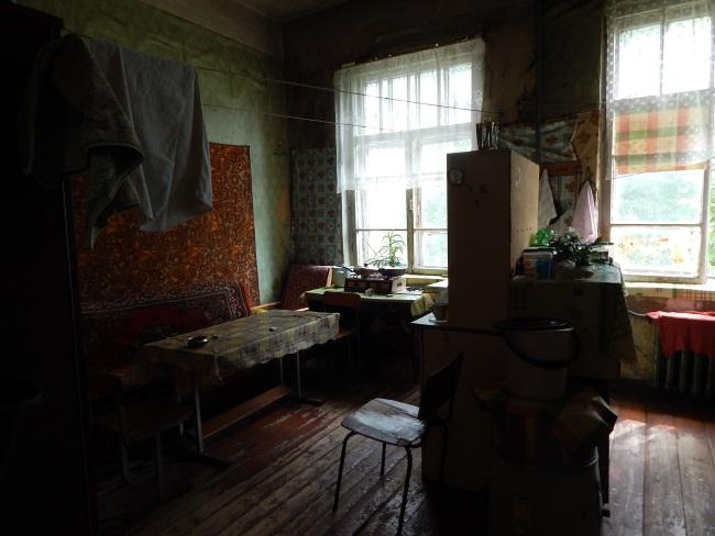 В доме на проспекте Черняховского