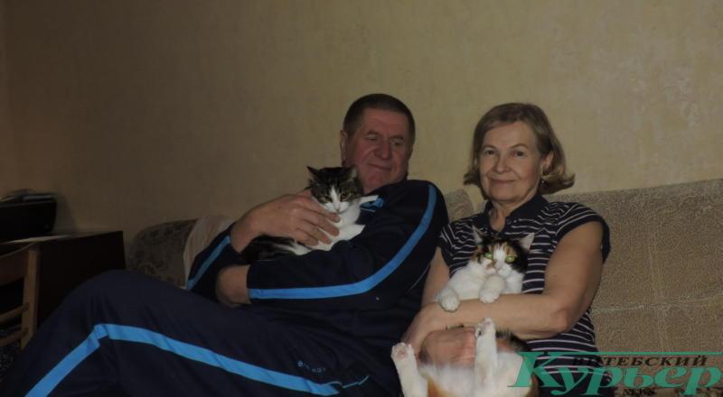семья с питомцами