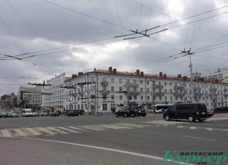 улица Замковая в Витебске