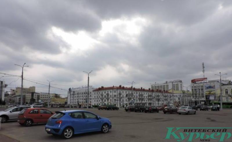 Площадь Свободы в Витебске