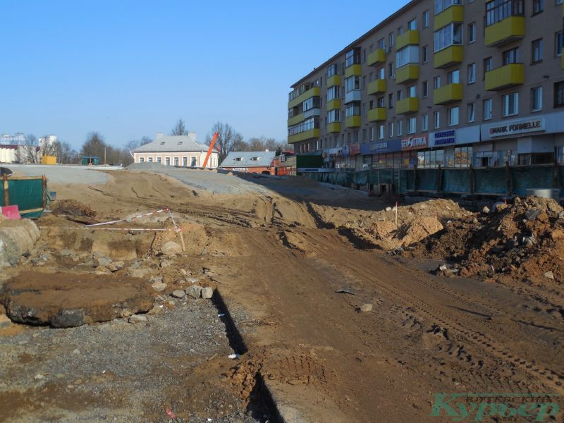 Грязь на улице Космонавтов