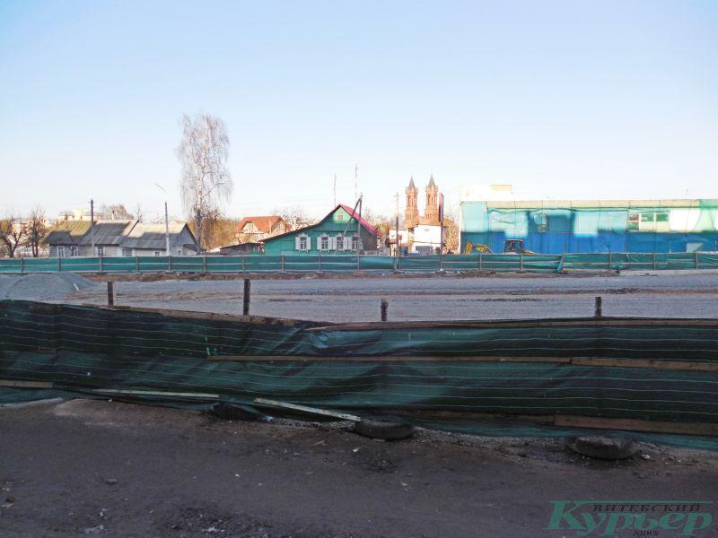 Улица Титова и костел