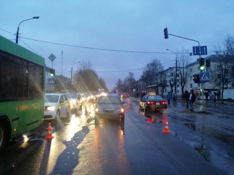 ДТП на Гагарина в Витебске