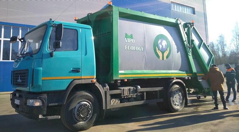 В Витебске разработали уникальный мусоровоз