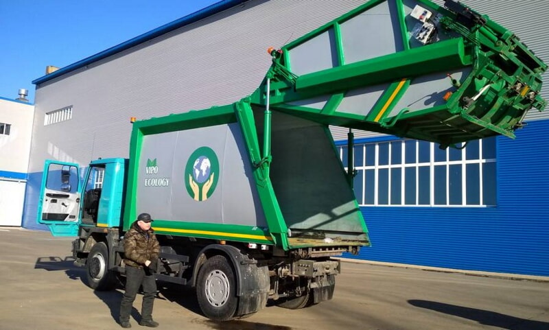 Уникальный мусоровоз разработали в Витебске