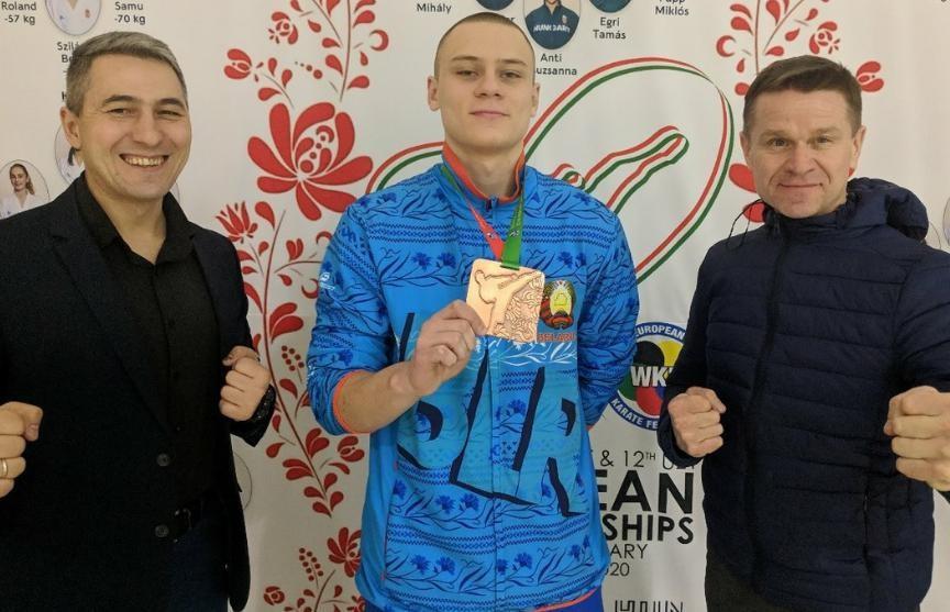 Никита Гайко стал бронзовым призером чемпионата Европы по каратэ