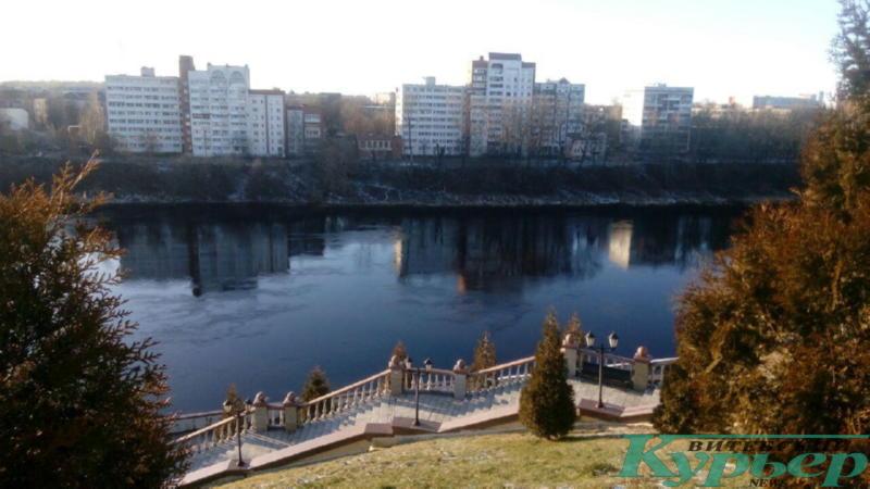 Западная Двина в феврале 2020