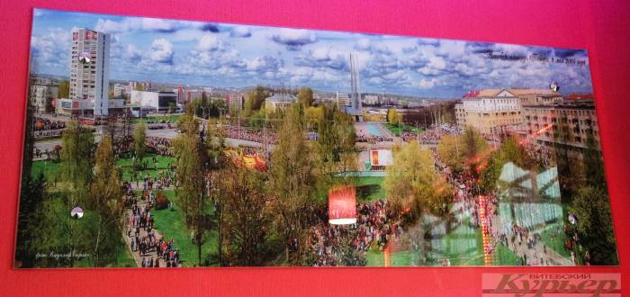 Площадь Победы в 2005 году