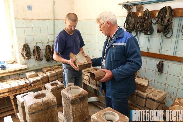 керамический завод в оболи