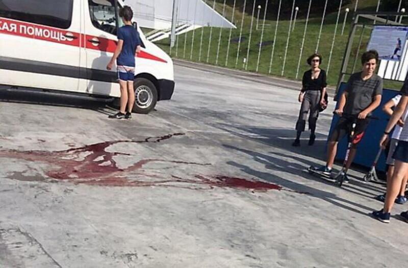 трагедия в скейт-парке Витебск