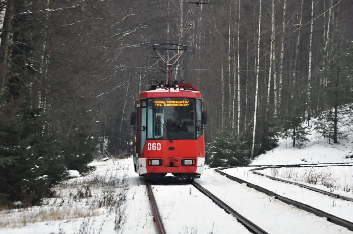 Трамвай в Новополоцке