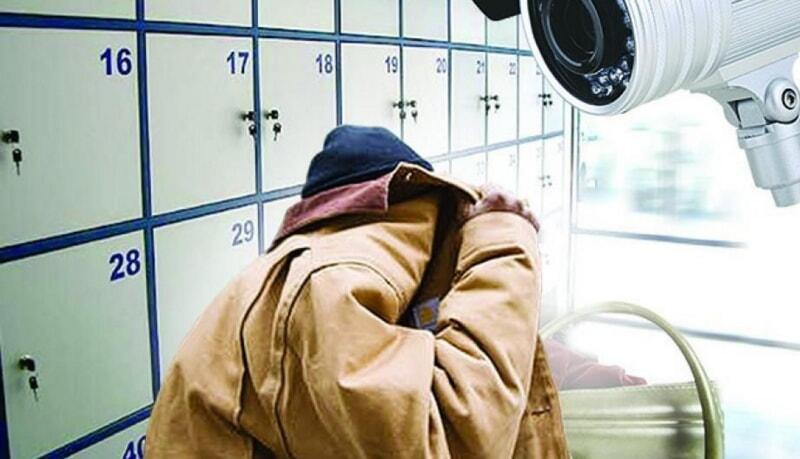 В Полоцке украли рюкзак из камеры хранения