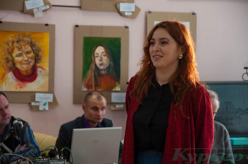 Анастасия идейный вдохновитель выставки