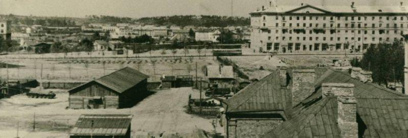 Площадь Победы в 1958 году