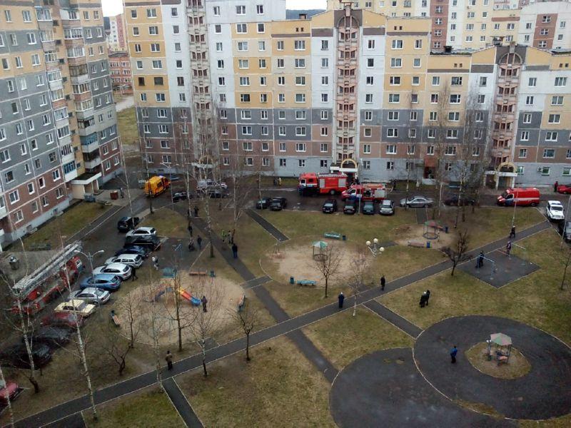Ликвидация факела на Чкалова