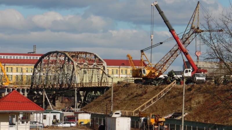 В Полоцке мост планируют сдать в ноябре