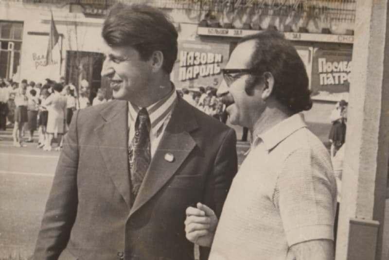 Уладзімір Папковіч і Давід Сімановіч