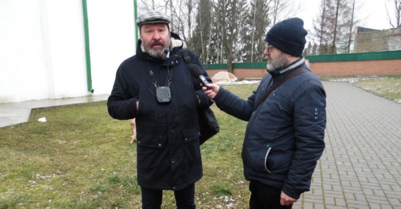 Сергей Тарасов с удовольствием пообщался с полочанами