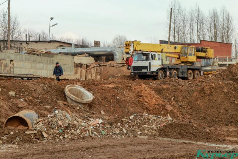 строительство дороги в Билево