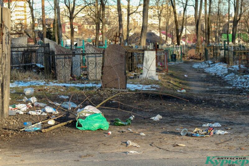 Старосемёновское кладбище витебск