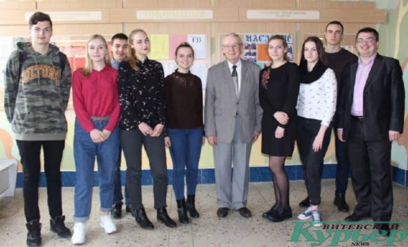 Уладзімір Папковіч на гістфаку ВДУ