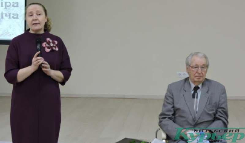 Уладзімір Папковіч і Ірына Саматой