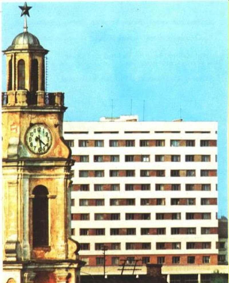 Так выглядела Ратуша в 1975 году