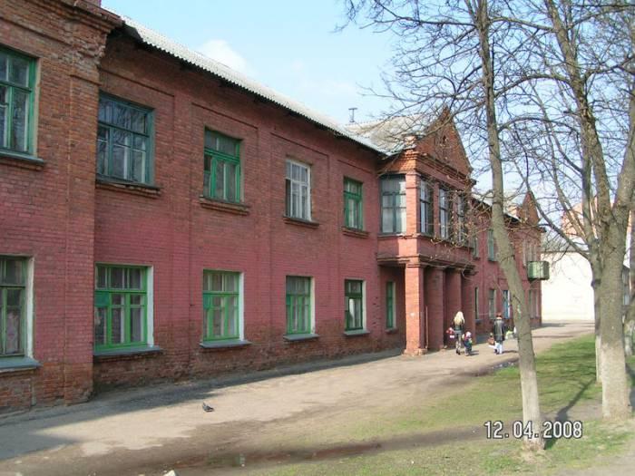 старый дом на улице Чапаева