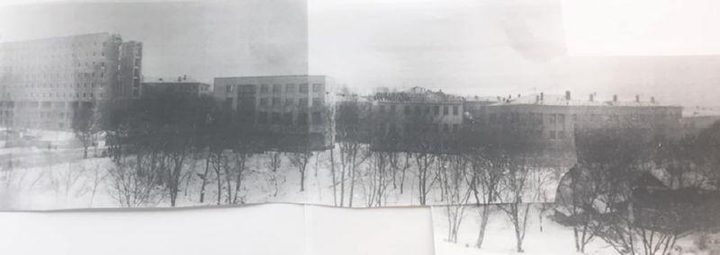 Яма с частными домами в 1974 году