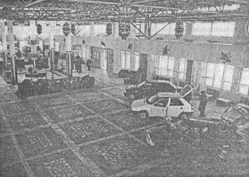 Автомобили в Ольге