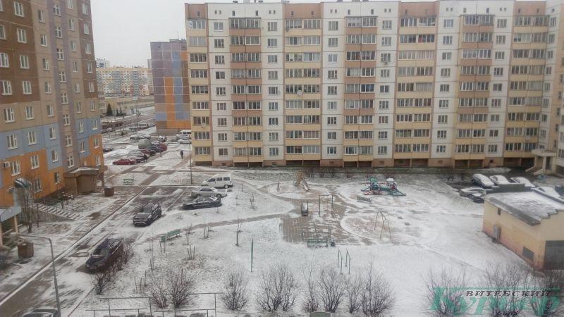 Билево в снегу. 30 марта