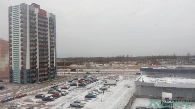 Снег на Генерала Ивановского