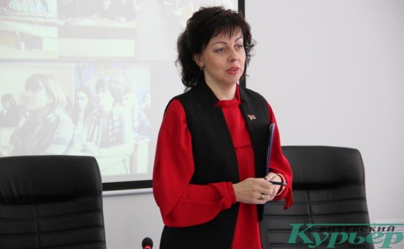 Ректор ВГУ имени П.М. Машерова Валентина Богатырева