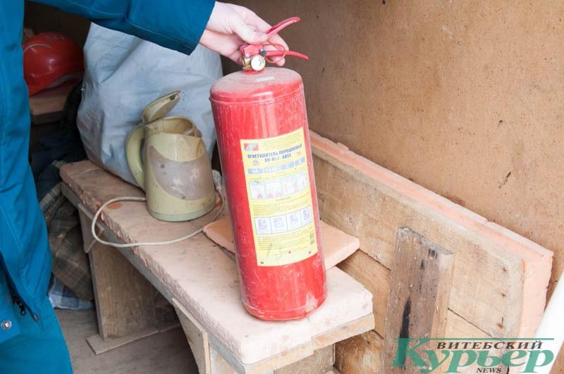 огнетушитель без шланга