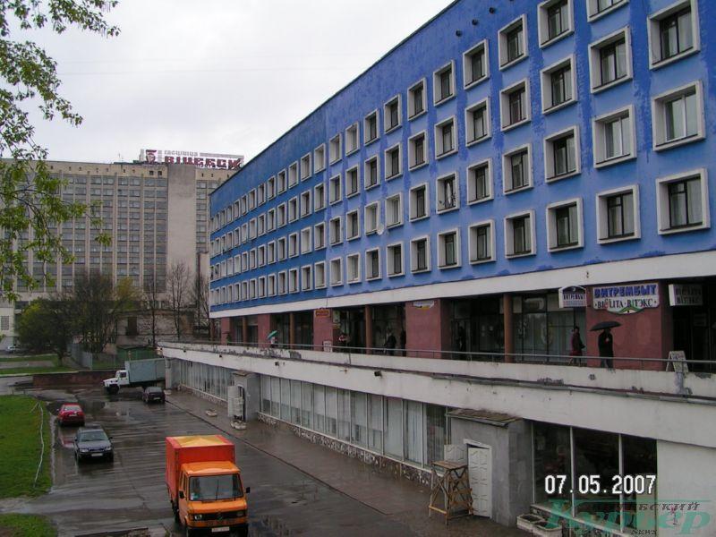 Синий дом в 2007 году