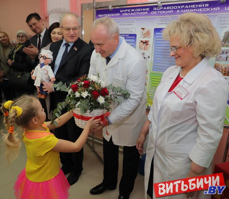 новая детская поликлиника в Билево